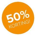 Wel 50 procent!